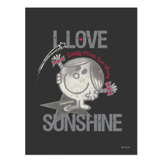 I Love Little Miss Sunshine Postcard