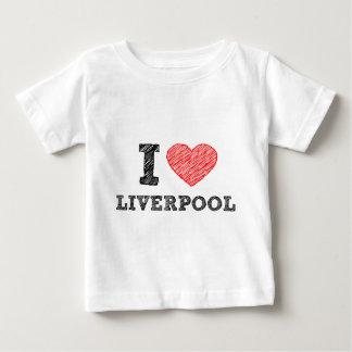 I love Liverpool Baby T-Shirt