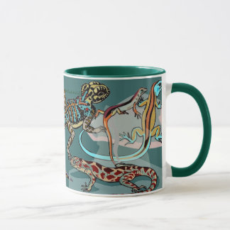 I love LIZARDS-drinking mug
