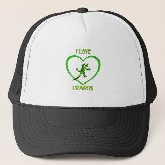 I Love Lizards Trucker Hat