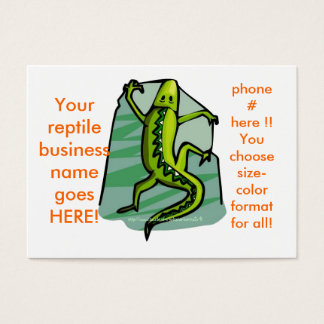 I LOVE LIZZIES!! make your own business card! Business Card