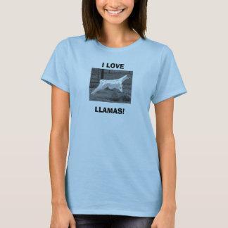 I LOVE LLAMAS! T-Shirt