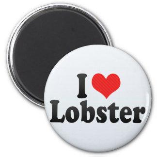 I Love Lobster Magnet
