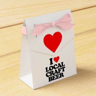 I LOVE LOCAL CRAFT BEER FAVOR BOX