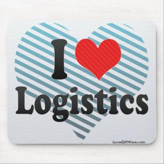 I Love Logistics Mouse Pad