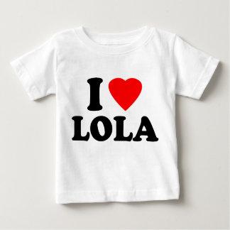 I Love Lola Baby T-Shirt