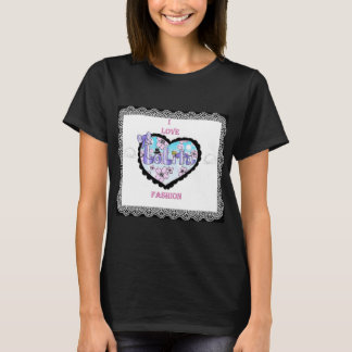 i love lolita fashion T-Shirt