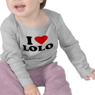 I Love Lolo Tees