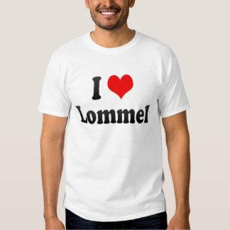 I Love Lommel, Belgium Shirt