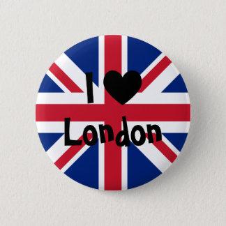 I Love London 2 Inch Round Button