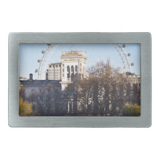 I Love London! Rectangular Belt Buckle