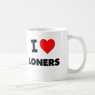 I Love Loners Basic White Mug