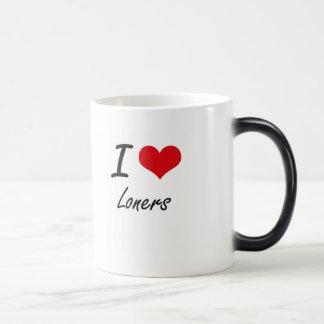 I Love Loners Morphing Mug