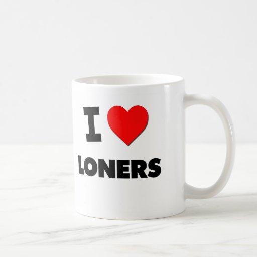 I Love Loners Coffee Mugs