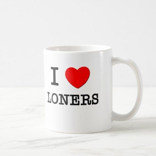 I Love Loners Mug
