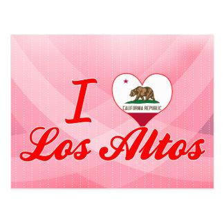 I Love Los Altos, California Postcard