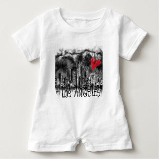 I love Los Angeles Baby Romper
