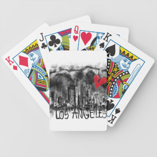 I love Los Angeles Bicycle Playing Cards