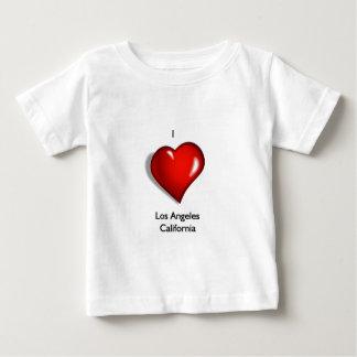 I Love Los Angeles California Baby T-Shirt