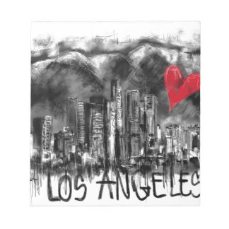 I love Los Angeles Notepad