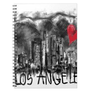 I love Los Angeles Spiral Notebook
