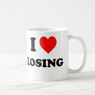 I Love Losing Coffee Mug