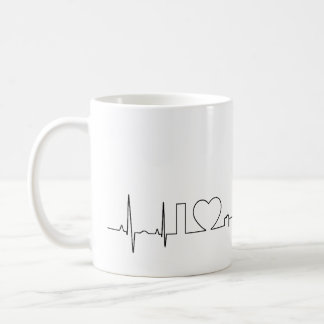 I love Louisville in an extraordinary ecg style Coffee Mug