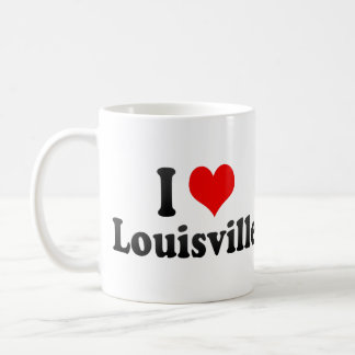I Love Louisville, United States Coffee Mug
