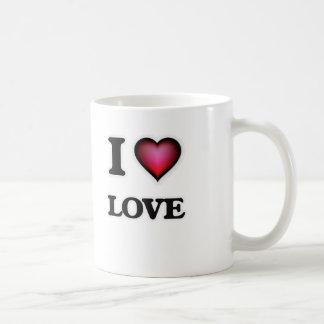 I Love Love Coffee Mug