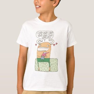 I Love Love Love Love Love Love You -- shirts