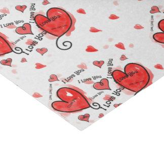 I Love, Love, Love You Tissue Paper
