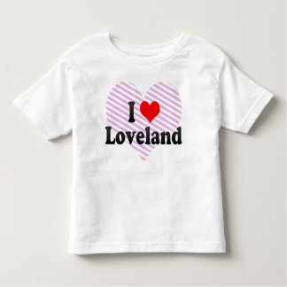 I Love Loveland, United States Toddler T-shirt