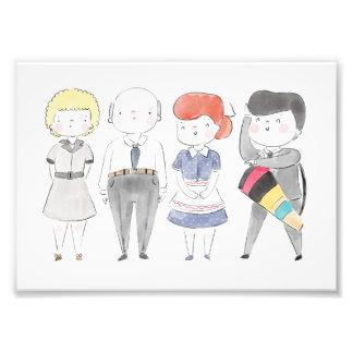 I Love Lucy Photo Print