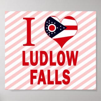I love Ludlow Falls, Ohio Posters