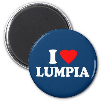 I Love Lumpia Refrigerator Magnets
