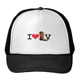 I LOVE LV® BOOT TRUCKER HAT