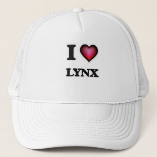 I Love Lynx Trucker Hat
