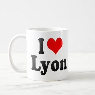 I Love Lyon, France Coffee Mug