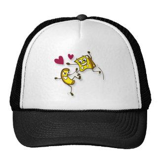 I love mac and cheese mesh hat