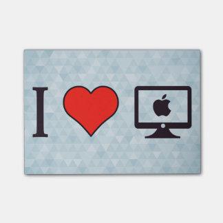 I Love Mac Post-it Notes