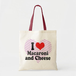 I Love Macaroni+and Cheese Bag