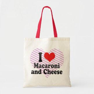 I Love Macaroni+and Cheese Budget Tote Bag