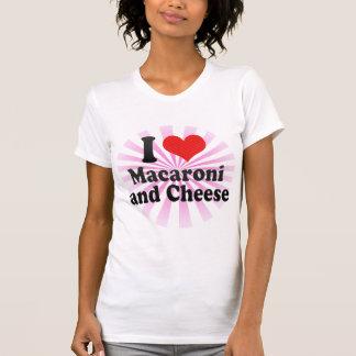 I Love Macaroni+and Cheese Tees