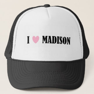 I LOVE MADISON HAT