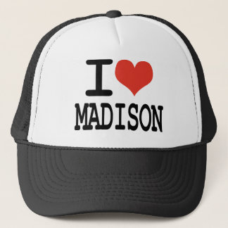 I love Madison Trucker Hat