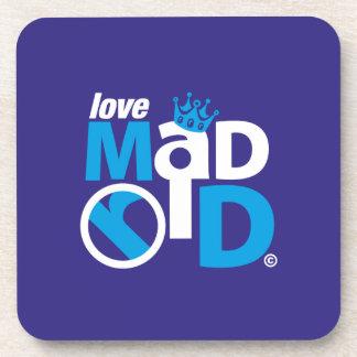 I Love Madrid Best Ever Club Coaster