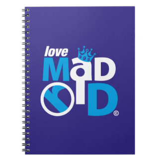 I Love Madrid Best Ever Club Notebook