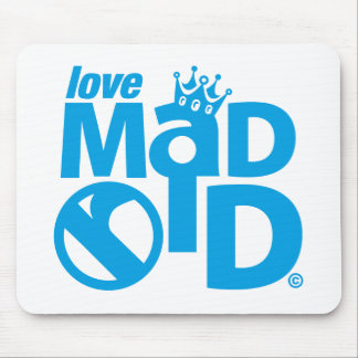 I Love Madrid Crown & Sign ED. Mouse Pad