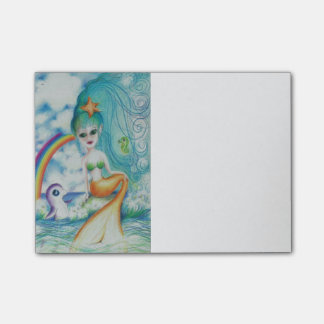I love magical mystical mermaids post-it notes
