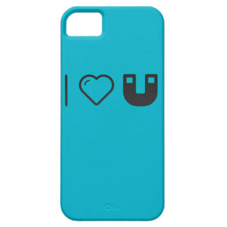 I Love Magnetic Forces iPhone 5 Covers